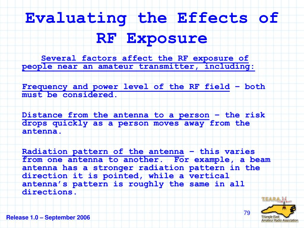 Evaluating the Effects of RF Exposure