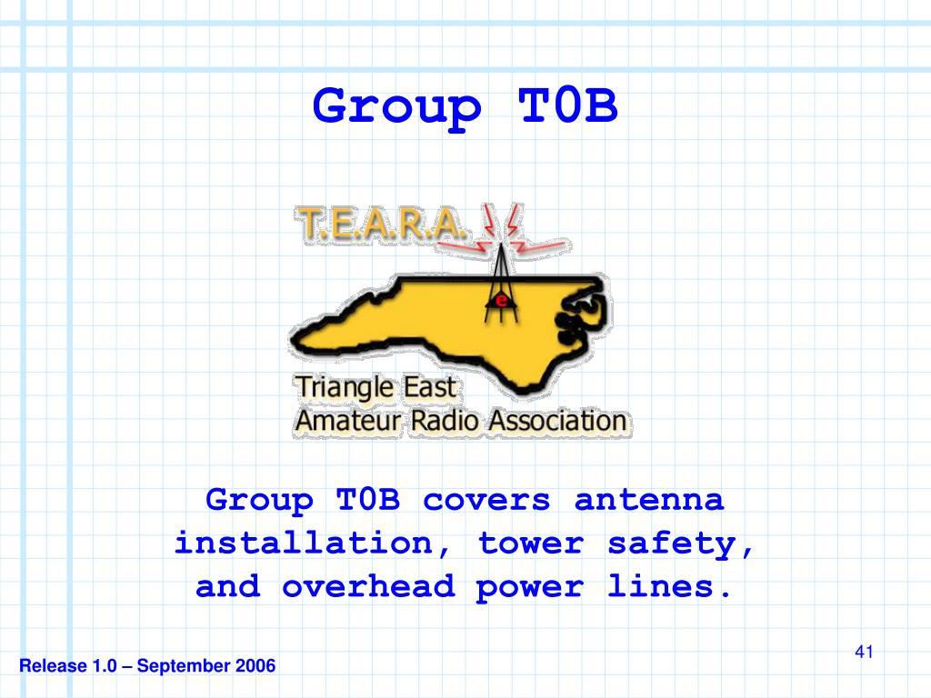 Group T0B