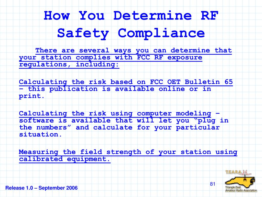 How You Determine RF Safety Compliance