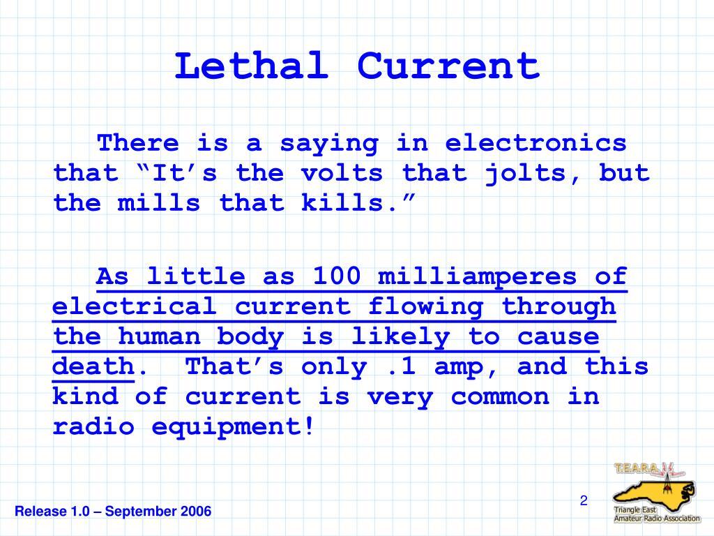 Lethal Current
