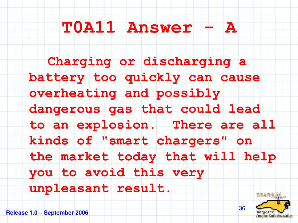 T0A11 Answer - A
