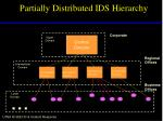 partially distributed ids hierarchy