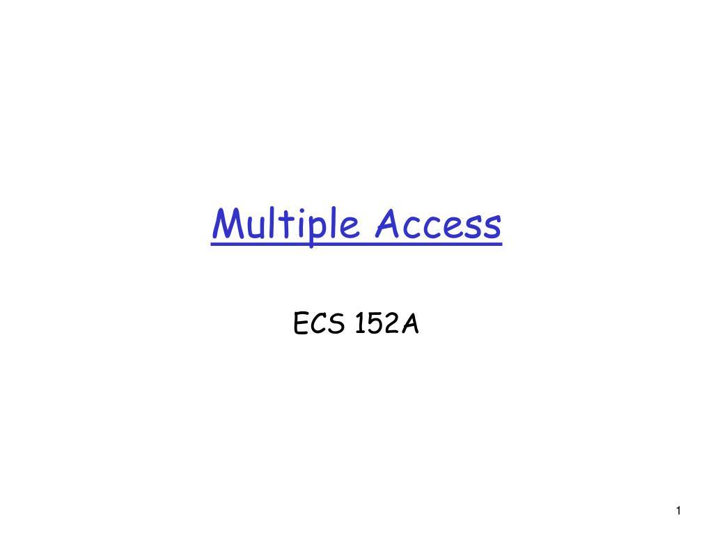 multiple access l.
