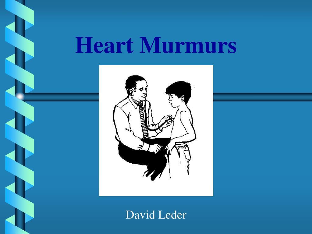 heart murmurs l.