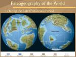 paleogeography of the world32