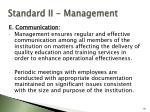 standard ii management80