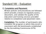 standard viii evaluation136
