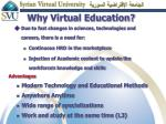 why virtual education