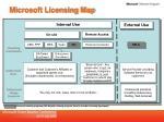 microsoft licensing map