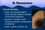 b resonance