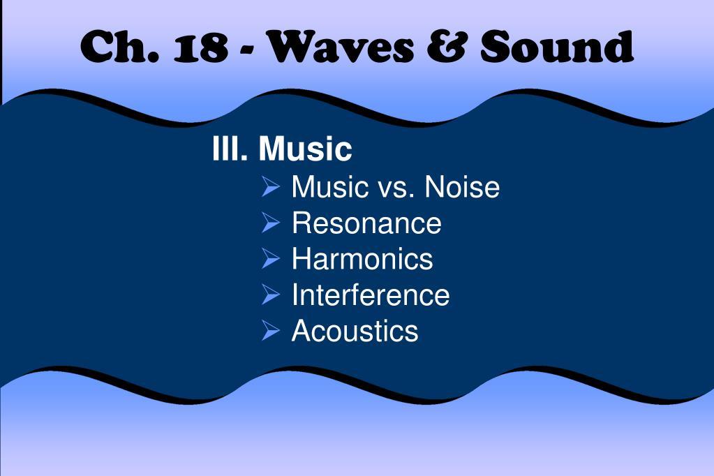 ch 18 waves sound l.