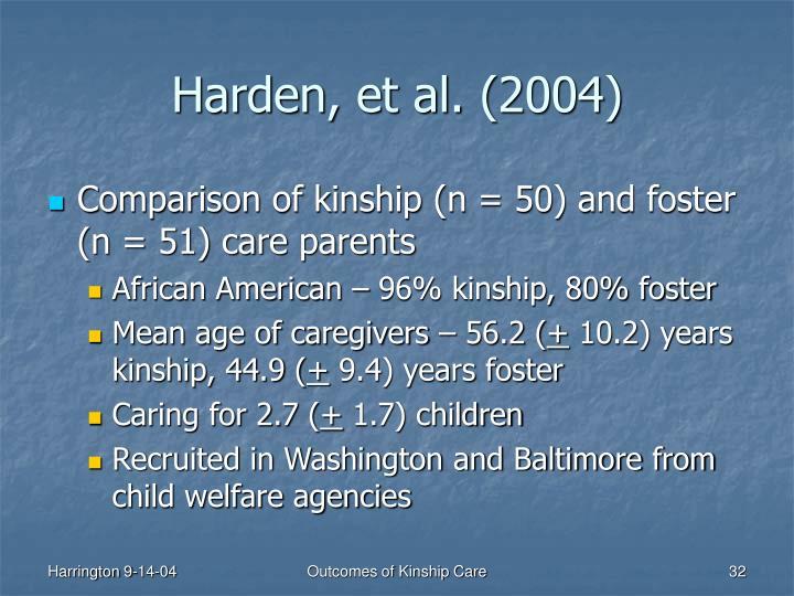Harden, et al. (2004)