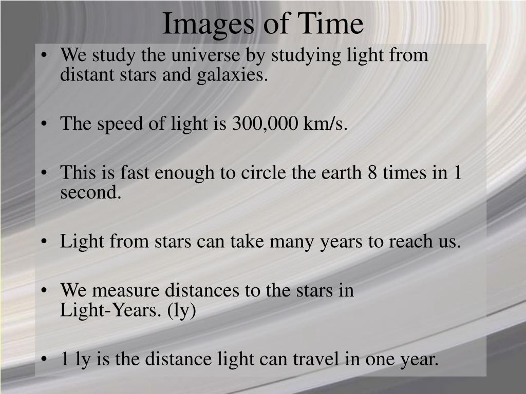 Images of Time