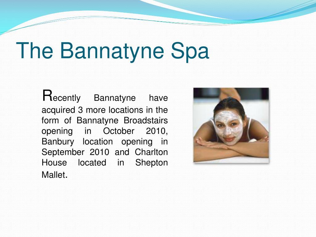 The Bannatyne Spa