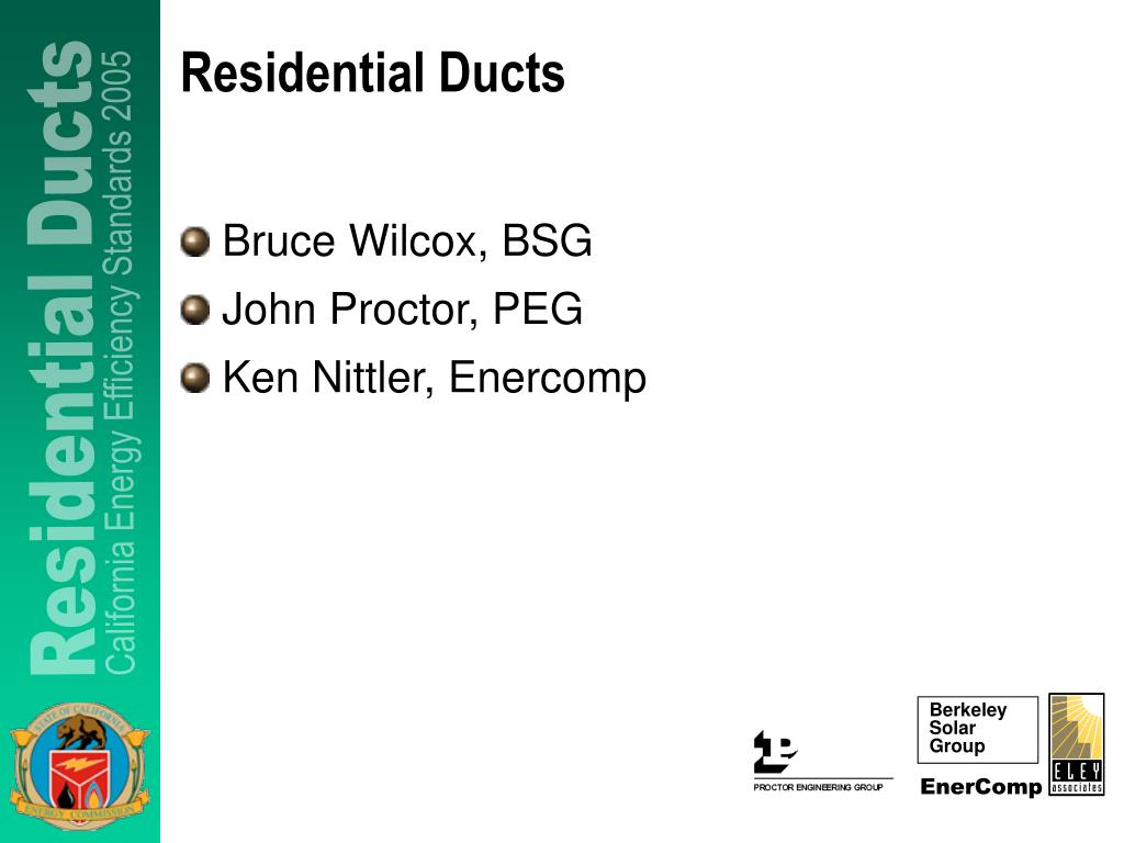 residential ducts l.