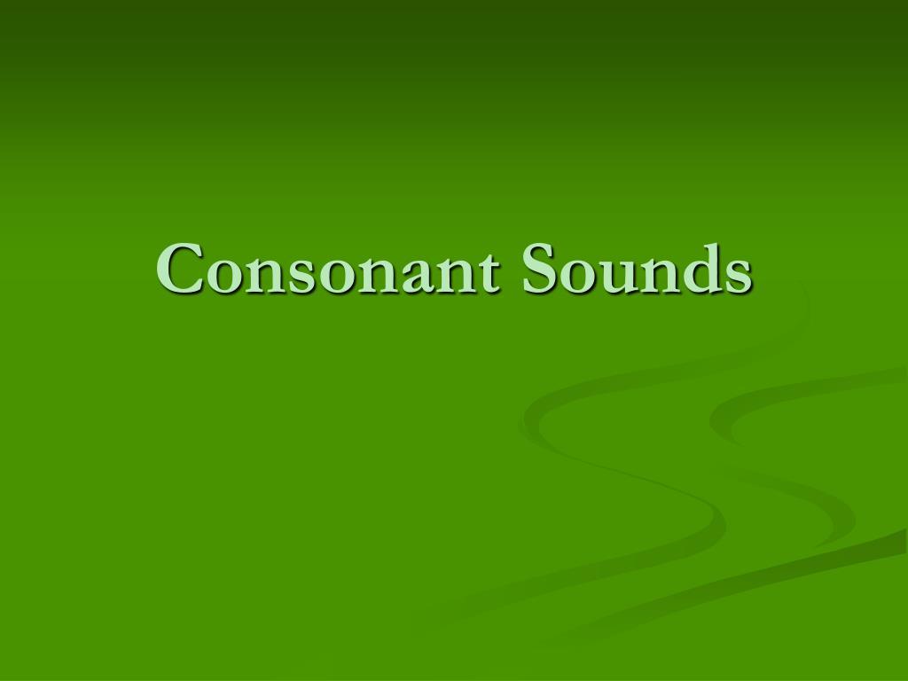 consonant sounds l.
