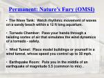 permanent nature s fury omsi