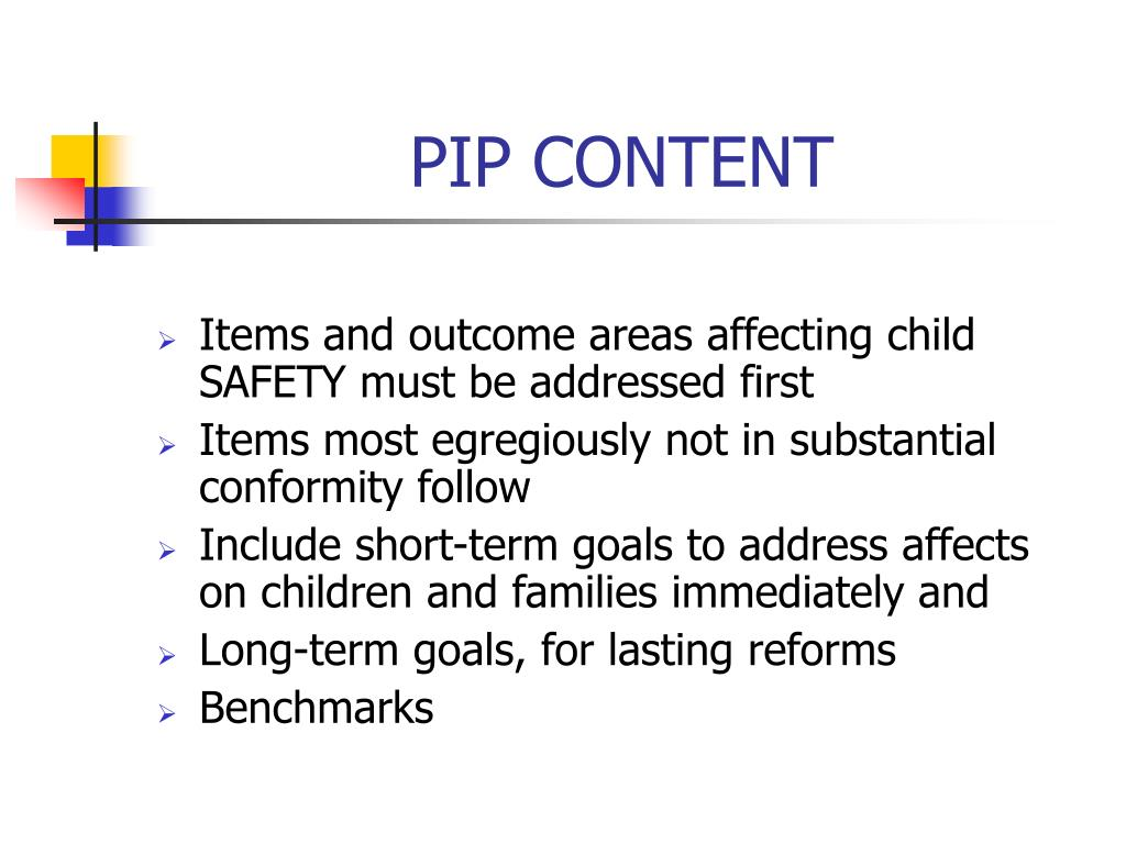 PIP CONTENT