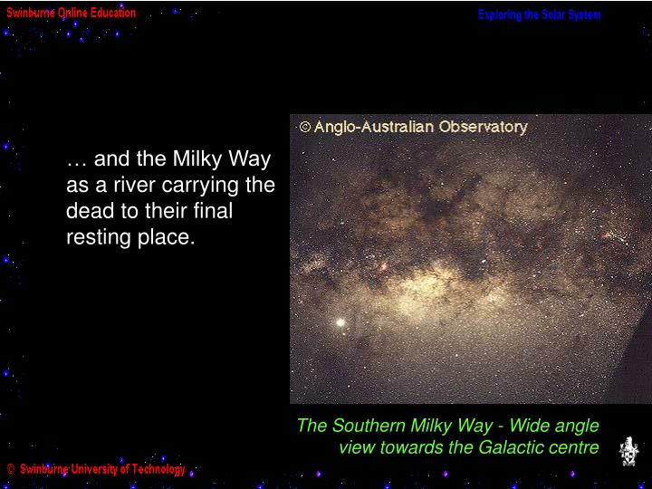 The Southern Milky Way - Wide angle
