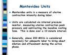 montevideo units