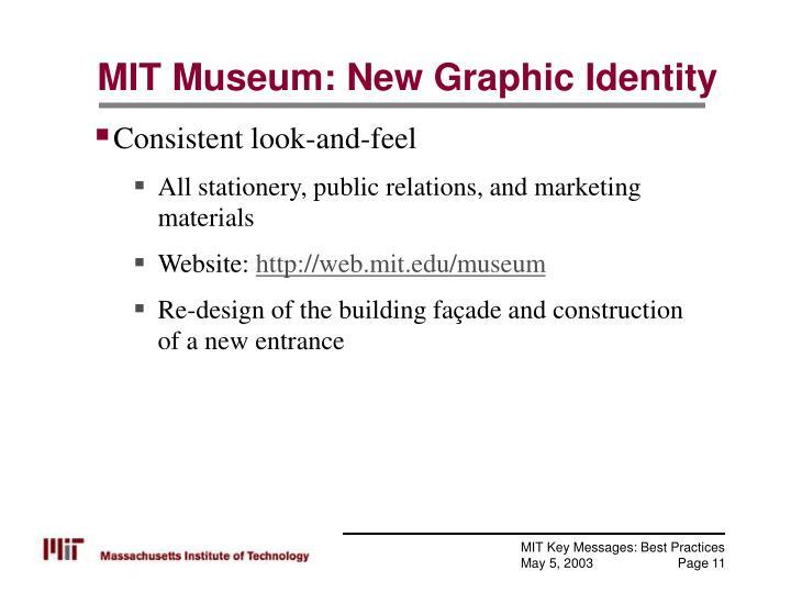 MIT Museum: New Graphic Identity