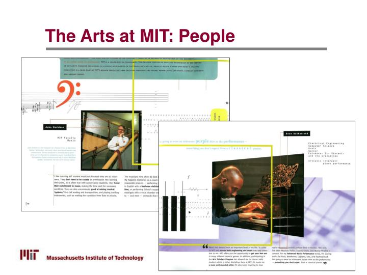 The Arts at MIT: People
