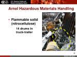 arnel hazardous materials handling32