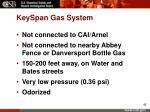 keyspan gas system