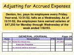 adjusting for accrued expenses65