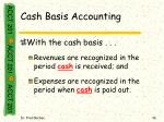 cash basis accounting36