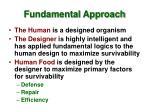 fundamental approach