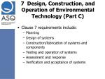 7 design construction and operation of environmental technology part c