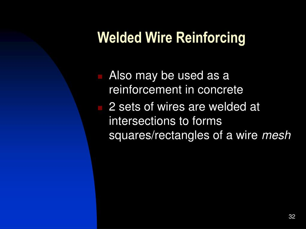 Welded Wire Reinforcing