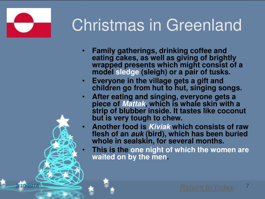 Christmas in Greenland