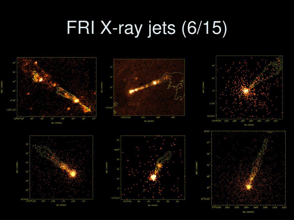 FRI X-ray jets (6/15)