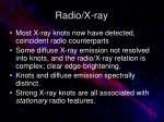 radio x ray