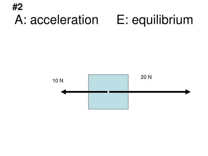 A acceleration e equilibrium3