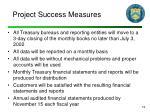 project success measures