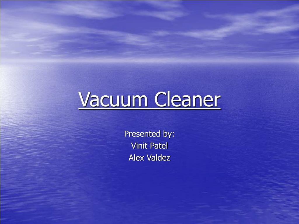 vacuum cleaner l.