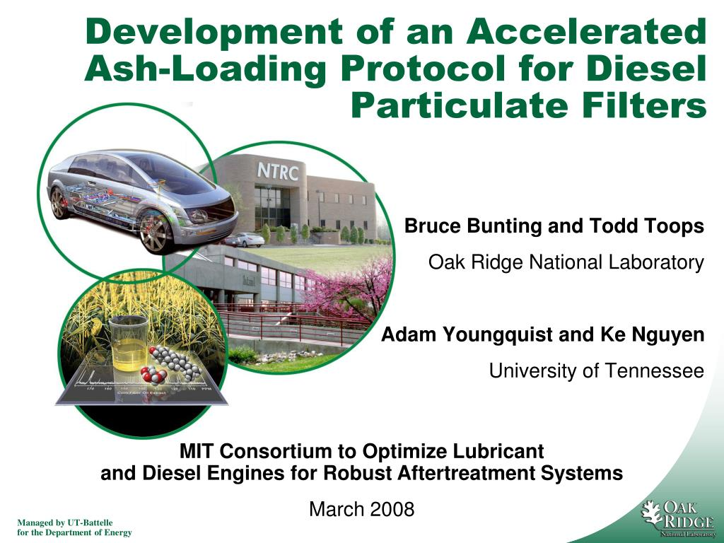 development of an accelerated ash loading protocol for diesel particulate filters l.