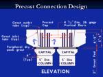 precast connection design