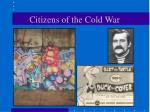 citizens of the cold war
