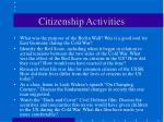citizenship activities