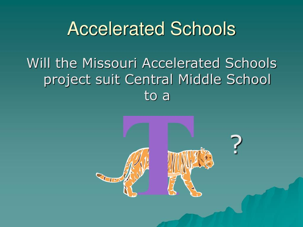 Accelerated Schools