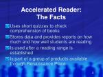 accelerated reader the facts