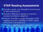 star reading assessments