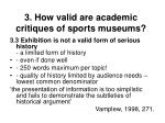3 how valid are academic critiques of sports museums21