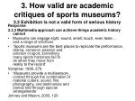 3 how valid are academic critiques of sports museums29