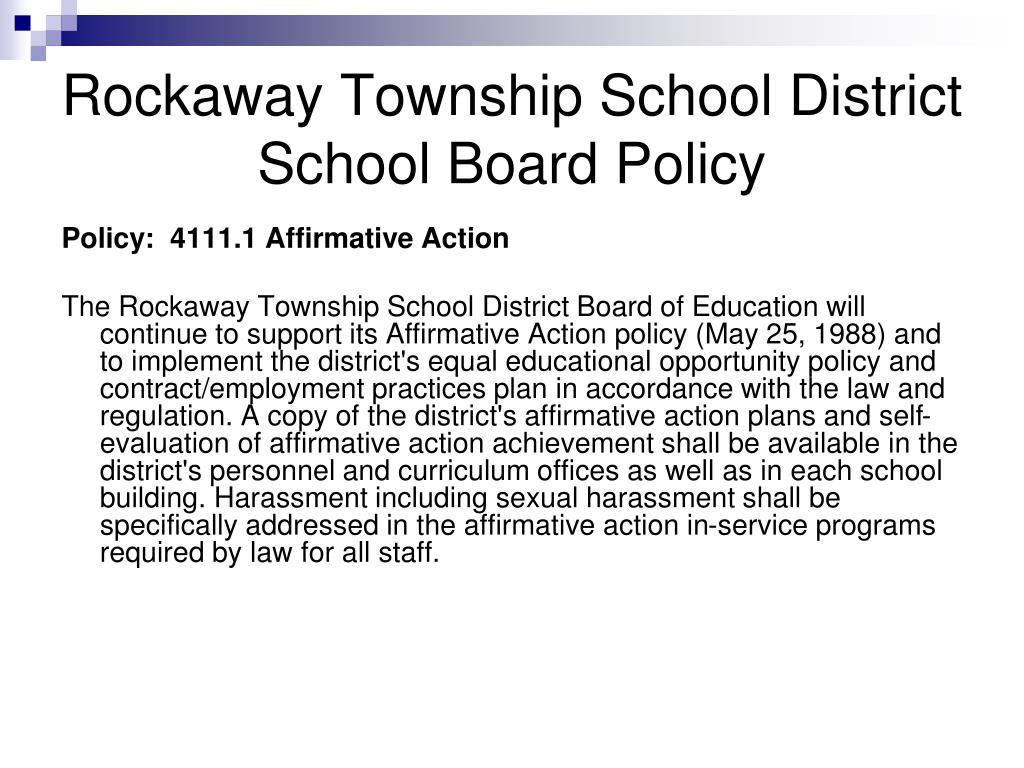 Rockaway Township School District