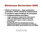 montreaux declaration 20055